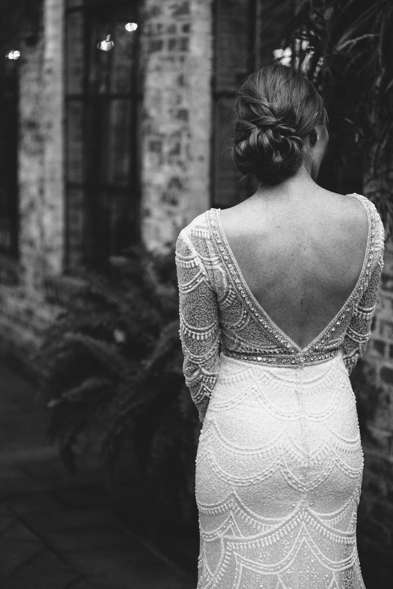 wedding dress carondelet house