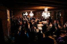 hi point of view ceremony shot carondelet house wedding