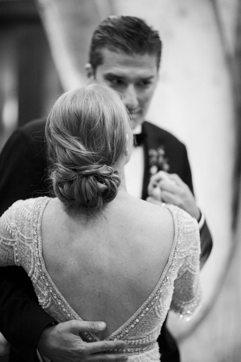carondelet wedding reception first dance