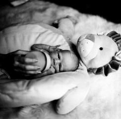 orange county newborn photographer in home film nicole caldwell