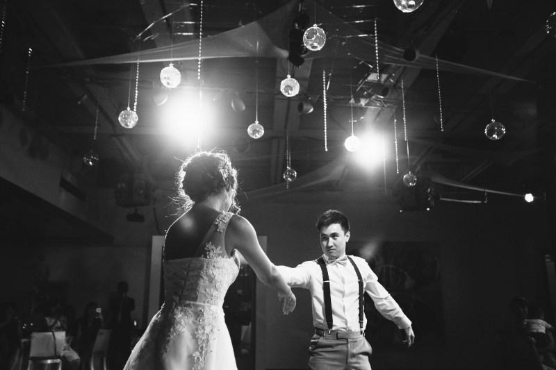 seven degrees wedding laguna beach photographer nicole caldwell reception first dance