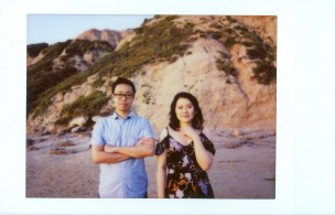 leica sofort instax film engagement crsytal cove photographer nicole caldwell 13
