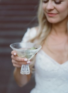 seven degrees wedding photographer nicole caldwell who uses film cinestill bride with martini