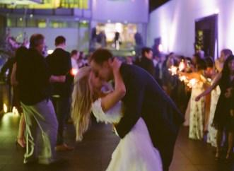 seven degrees wedding photographer nicole caldwell who uses film cinestill sparkler farewell