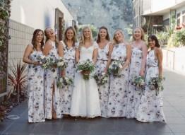 seven degrees wedding photographer nicole caldwell who uses film cinestill bridesmaids