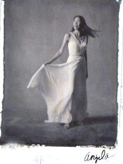 new 55 film bride traditional photography studio portrait nicole caldwell