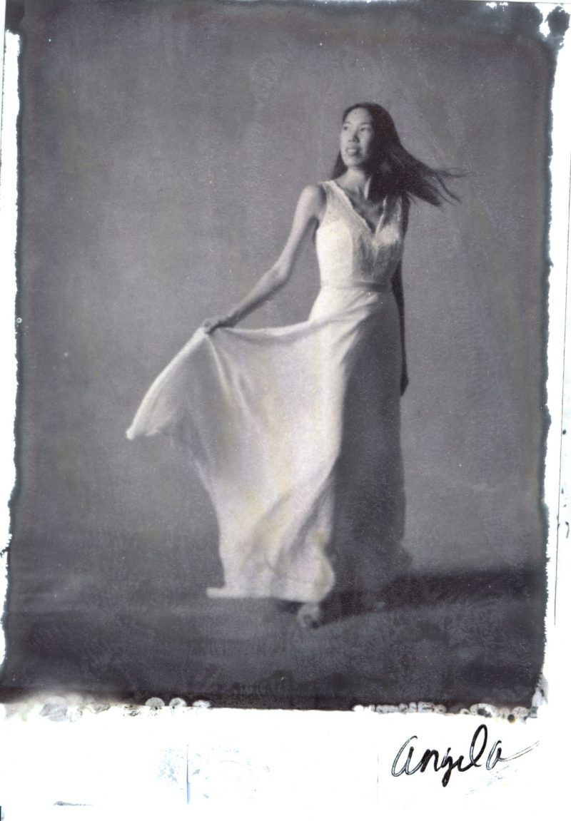 new 55 film bride traditional photography studio portrait nicole caldwell