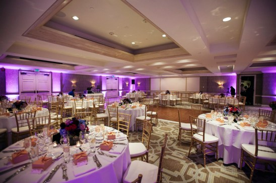 surf and sand resort wedding photographer nicole caldwell reception peleican ballroom