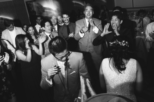 surf and sand resort wedding photographer nicole caldwell dance floor