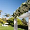 wedding arch bel air bay club wedding palos verdes