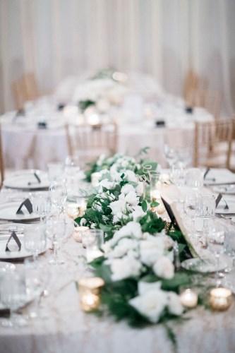 reception tables bel air bay club wedding palos verdes