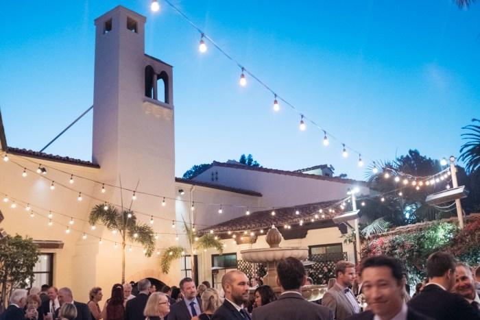 courtyard bel air bay club wedding