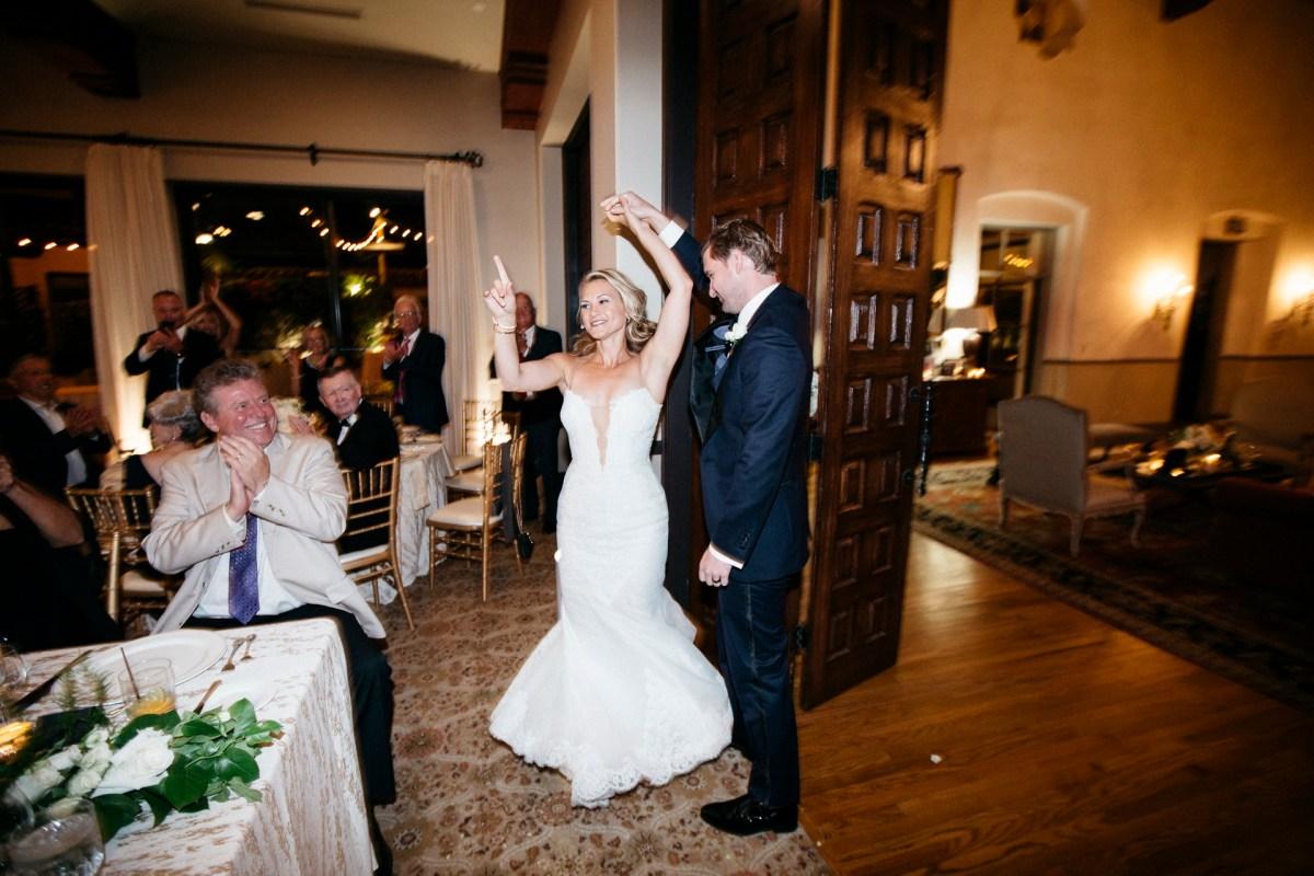 grand entrance bel air bay club wedding