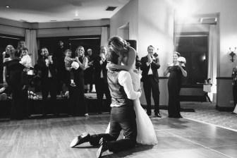 bel air bay club palos verdes wedding first dance