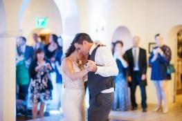 casa romantica san clemente wedding photographer first dance