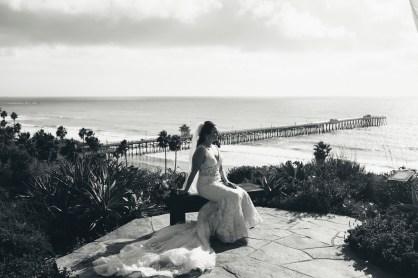 casa romantica san clemente wedding photographer artistic bride stting