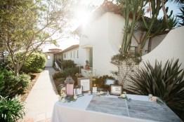 casa romantica san clemente wedding photographer artistic gift table