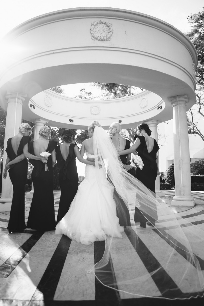 bridesmaids Monarch beach resort wedding photographer nicole caldwell