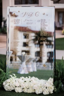 wedding table cards Monarch beach resort wedding photographer nicole caldwell