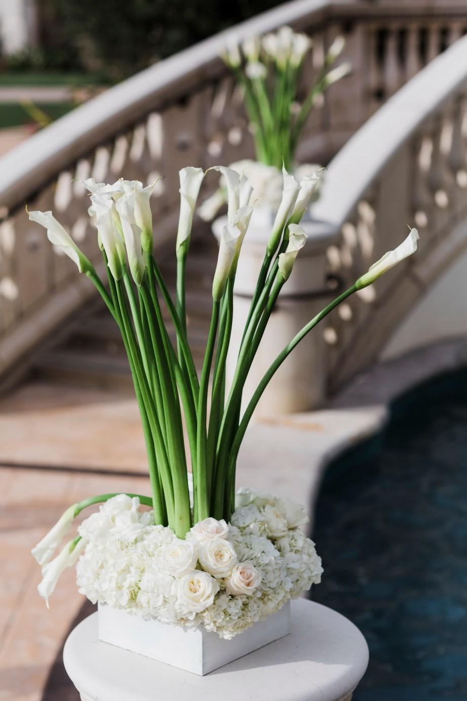 ceremony flowers Monarch beach resort wedding photographer nicole caldwell