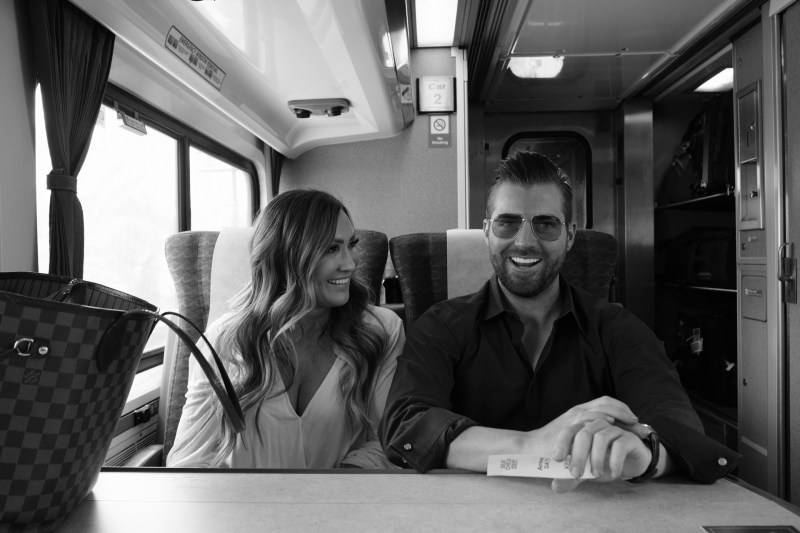 engagement photos theme ideas train station nicole caldwell04