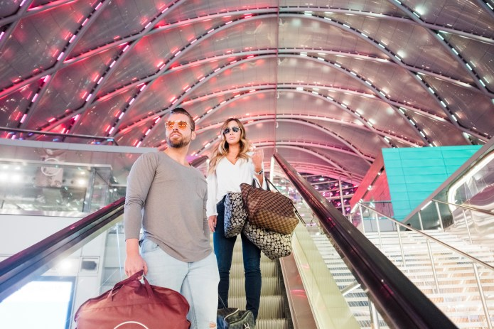 engagement photos theme ideas train station nicole caldwell27