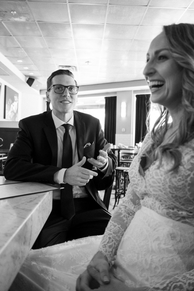 lyon hall bride and groom drinking champagne washington dc wedding and elopement by nicole caldwell