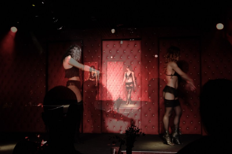 burlesque photography black veils nicole caldwell 36