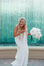 bride laughing wedding ceremony ocean terrace wedding photos surf and sand resort laguna beach