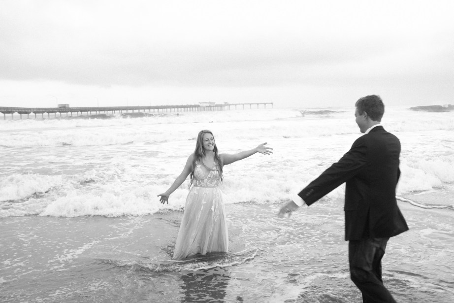 san diego wedding photographer nicole caldwell trash the dress ocean beach pier 06