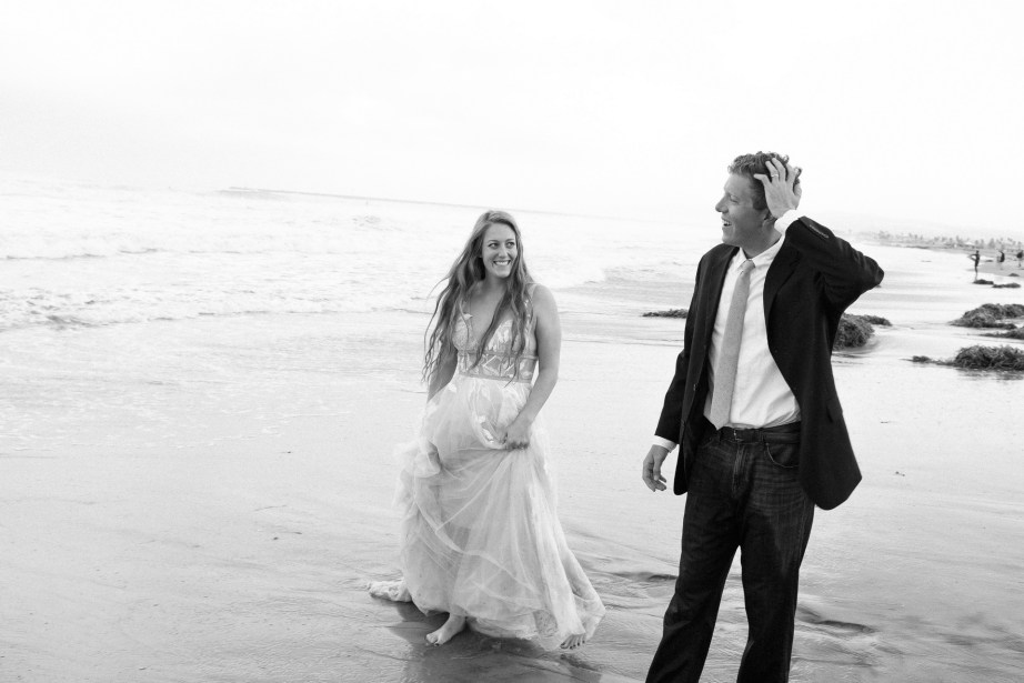 san diego wedding photographer nicole caldwell trash the dress ocean beach pier 13