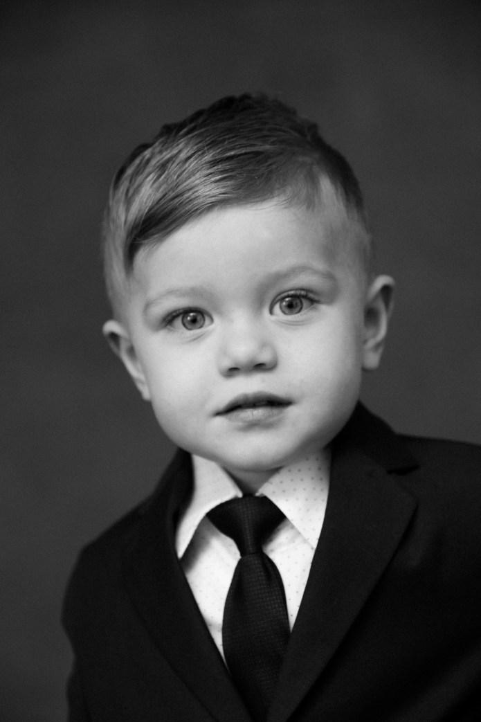 classic black and white family studio photographs nicole caldwell 02