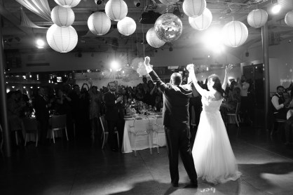 bride and groom first dance seven degrees wedding photographer laguna beach