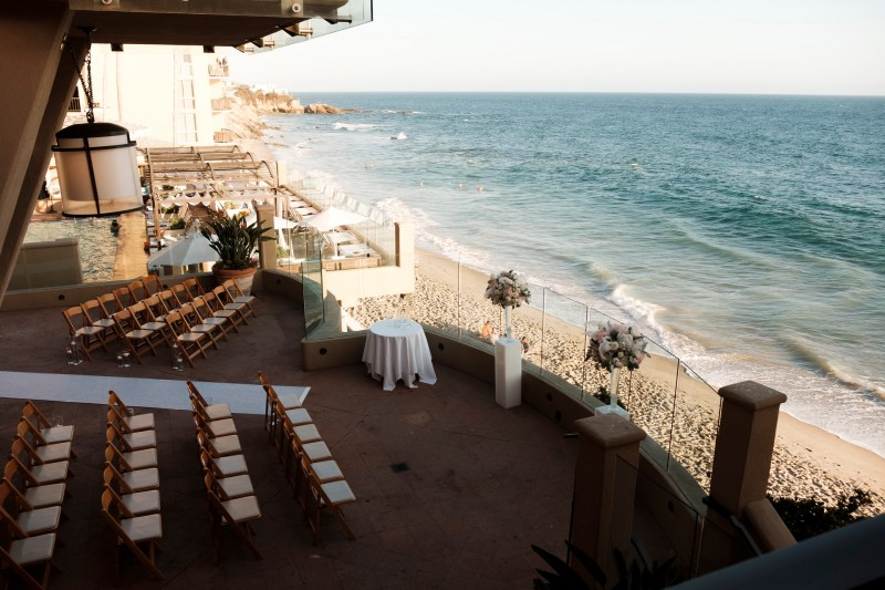 intimate second wedding Surf and Sand REsort Nicole Caldwell 10