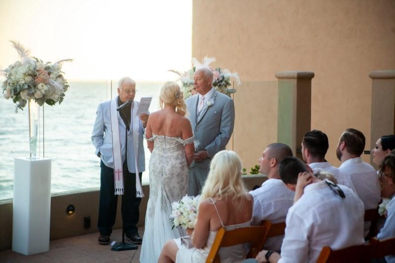intimate second wedding Surf and Sand REsort Nicole Caldwell 16