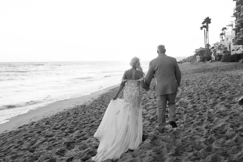 intimate second wedding Surf and Sand REsort Nicole Caldwell 23