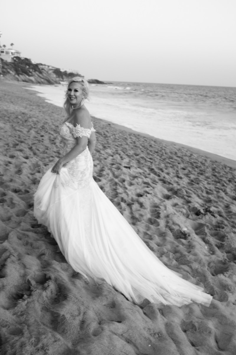 intimate second wedding Surf and Sand REsort Nicole Caldwell 28