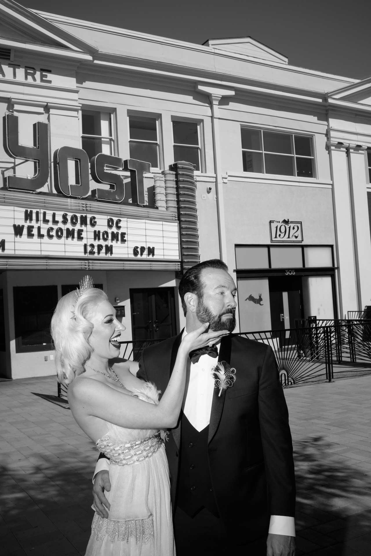 1930's wedding Vibe | Yost Theater