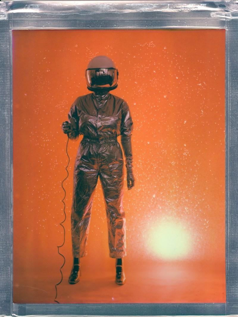 space trucker nicole caldwlel 8x10 poalroid specialist
