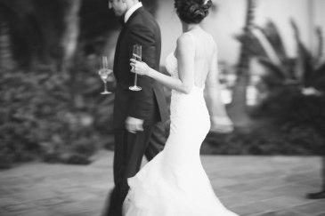 bride and groom ritz carlton laguna niguel wedding