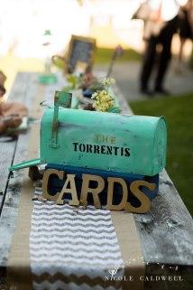 cards mailbox idea temecula creek inn wedding stone house bride