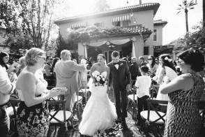 French Estate wedding photographer orange ceremony