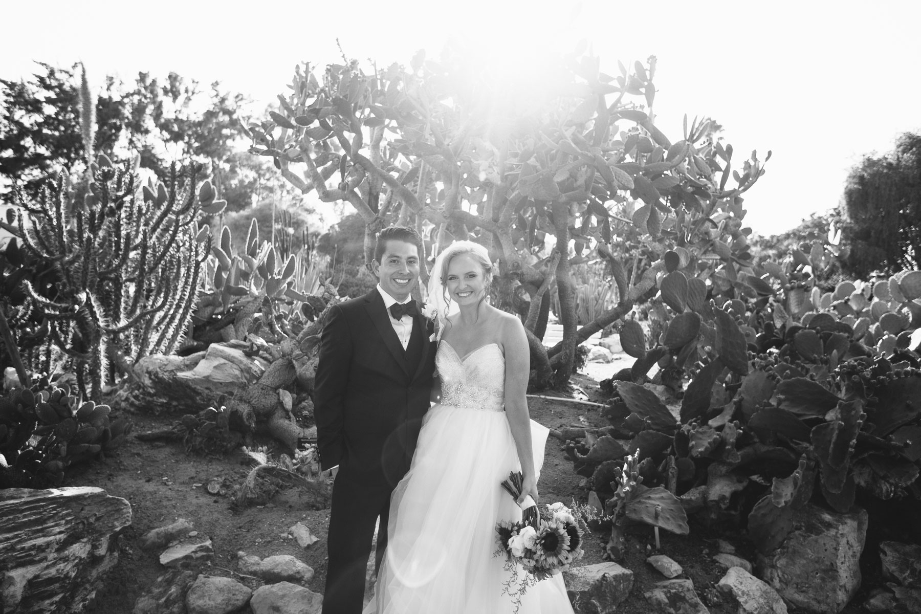 Wedding at the South Coast Botanical Gardens | Palos Verdes