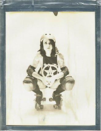 8x10 polaroid impossoble projcet film by nicole caldwell