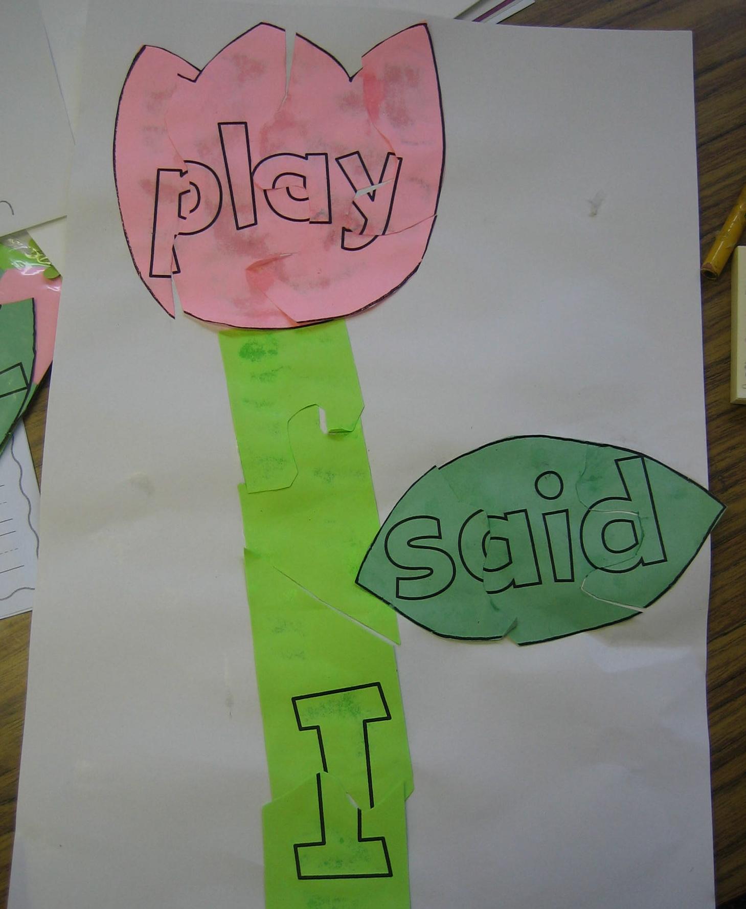 Language Arts Lessons