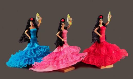 Muñecas flamencas para TV