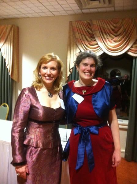 Heather & Nic at Reagan Gala 2-12