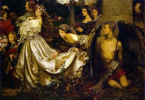 The Uninvited Guest by Eleanor Fortescue Brickdale [Public domain], via Wikimedia Commons