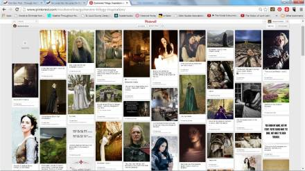 My Pinterest board for Guinevere-related pins.