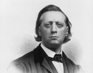 Henry Ward Beecher. Does anyone else see a resemblance between him and Jon Stewart?